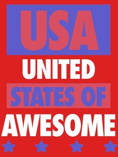 United States of Awesome by geekingoutfitte