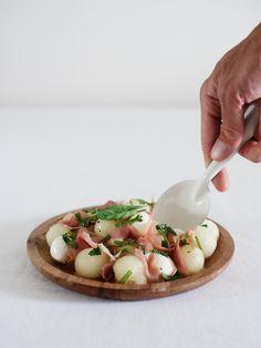 Caprese Salade met Meloen | www.88food.nl