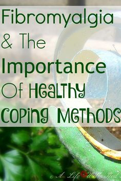 It can be so hard for me COPING with Chronic Illness everday. This was a great reminder to balance my FIBROMYALGIA with healthy coping methods! *Pin Now Read Later