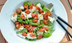 kan Caprese Salad, Mozzarella, Vegan, Food, Essen, Meals, Vegans, Yemek, Insalata Caprese