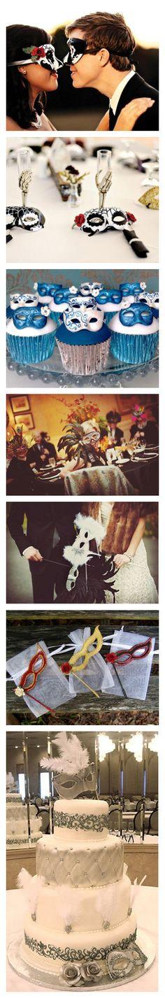 Masquerade #Wedding Theme