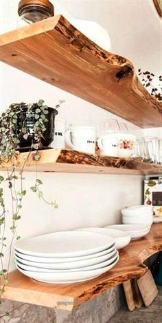 Splendid Nice Best Country Decor Ideas Floating Shelves Rustic Farmhouse Decor Tutorials and Easy Vintage Shabby Chic Home Decor for Kitchen Living Room and Bathroom Creative Country Craft ..