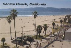 Venice Beach, Ca. This beach is not your average beach.The people who come here are not your average people. Relived the 60's and 70's!!