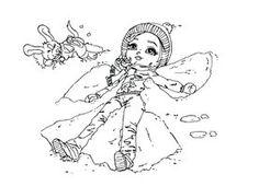 Snow Angel by *JadeDragonne on deviantART