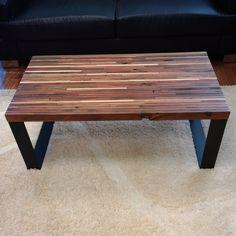 Coffee Table -  Reclaimed wood coffee table