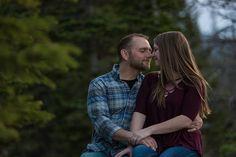 romantic rocky mountain national park engagement