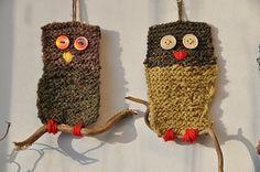 Bilderesultat for ugler Bird Crafts, Crafts To Do, Easy Crafts, Crafts For Kids, Arts And Crafts, Crochet Cross, Double Crochet, Amigurumi Patterns, Crochet Patterns