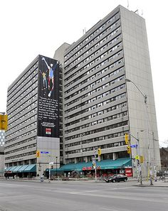 Rochedale College (1968), 341 Bloor St West, Toronto | A counterculture experiment in education. Students and teachers were to live together in the same building used for classes. Tuition was free. Eventually became a centre of the hippy population and closed in 1975. Now the Senator David A. Croll Apartments.