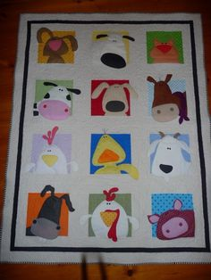 Explore donmark26's photos on Flickr. donmark26 has uploaded 2335 photos to Flickr. Applique Patterns, Quilt Patterns, Sewing Patterns, Knitting Books, Knitting Projects, Girls Quilts, Baby Quilts, Motifs D'appliques, Farm Quilt