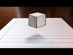 Dibujo 3D agujero para niños - Cómo dibujar 3D Circular Hole - Arte del truco para los niños - YouTube