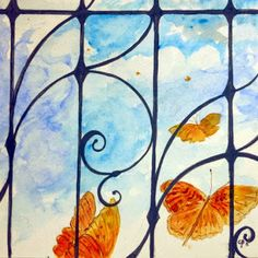 #PANTAREI #butterfly #watercolor
