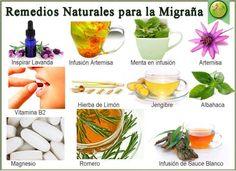 Remedios Naturales para la Migraña