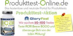 acai Beere – Produkttest-Aktion | Pinnen und ein zusätzliches Los erhalten... Wir suchen 50-100 Tester!