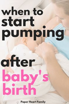 When To Start Pumping Milk After Birth: Is Pumping After Baby Is Born Okay? Wondering when to start pumping after baby is born? Learn when to start pumping breastmilk for work or storage, as well as how much breast milk you should be pumping. Knowing what When To Start Pumping, Thing 1, Breastfeeding And Pumping, Caffeine And Breastfeeding, Breastfeeding Problems, Baby Supplies, After Baby, Baby Arrival, Pregnant Mom