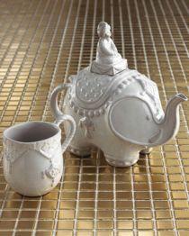 Jonathan Adler Elephant Teapot and Mug, $110