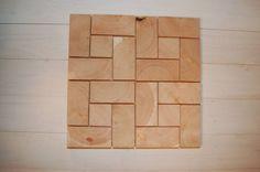 Wood Block Flooring, End Grain Flooring, Parquet Flooring, Floors, Into The Woods, Commercial Flooring, Old Wood, New Homes, Cool Stuff