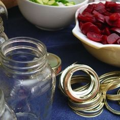 DIY Canned Pickles and Beets - Fall is the perfect time to start making your own pickles and beets for the holidays.