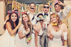 funny photo booth at my wedding is a must