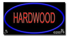 "Hardwood Neon Sign - 20"" x 37""-ANS1500-5608  37"" Wide x 20"" Tall x 3"" Deep  Flashing Border ""ON/OFF"" switch  Sign is mounted on an unbreakable black or clear Lexan backing  110 volt U.L. listed transformer fits into a standard outlet  Hanging hardware & chain included  6' Power cord with standard transformer  For indoor use only  1 Year Warranty on electrical components  1 Year Warranty on standard transformers."