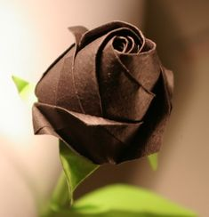 This is a very simple but made out of origami paper roses beautiful roses folding
