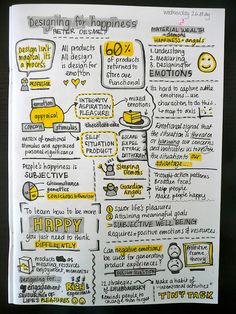 """User Experience Design: """"Designing For Happiness"""" ... Notes From An Inspired Designer #UX"""