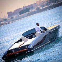 """This boat looks awesome . Tag who you'd take for a ride! 