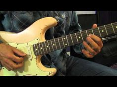 Jimi Hendrix Red House Intro Lesson - YouTube
