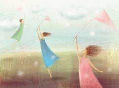 Illustrations by Elena Lishanskaya, via Behance