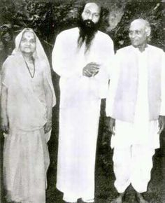 Osho and his parents