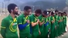 Video of cricketers in Kashmir singing Pakistan national anthem goes viral