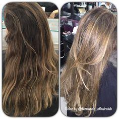 """""""Sun Kissed Hair"""" - Hoje foi o dia da  Prima Carina Gallardo Rey...  Cabelos levemente iluminados !!!!!  Muito obrigado!!!  #EFHairClub #aMagiaDasCores #oPoderDasMechas #FabricaDeLoiras #AquiNoSalao #LoiroDosSonhos #LouroDeSalao #Tratamento #BestBlondes #AutoridadeEmMechas #CabelosPoderosos #LoiroRyco #Tijuca #Blond #BlondChic #Ombre #OmbreHair #Mechas #Salao  #CabeloTop  #CabeloDivo #Balayage #Luzes #Moda #Cabelos #Divas @fernando_efhairclub"""
