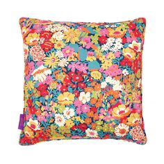 Liberty of London - Flowers of Thorpe Cushion - 45x45cm - Summer Bloom