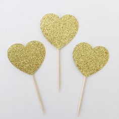 12 Glitter Heart Cupcake Toppers, Girly Bridal Shower, Baby Shower, Tea Party, Wedding, Engagement, Bridal Shower, Chic Bridal Shower by TrendiConfetti on Etsy https://www.etsy.com/ca/listing/463054229/12-glitter-heart-cupcake-toppers-girly