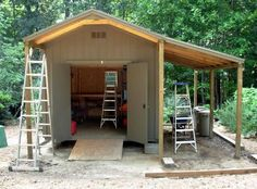 Wood Lean to Shed Plans