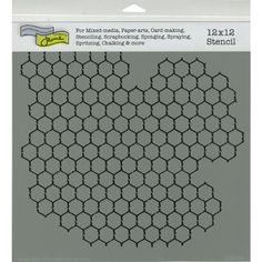 Crafters Workshop Framing Template, 12 by 12-Inch, Chicken Wire Reversed CRAFTERS WORKSHOP http://www.amazon.com/dp/B007C7V9EU/ref=cm_sw_r_pi_dp_qwrvub0AFSFPH