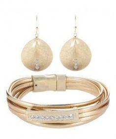 Sweet Deluxe Pulsera Dorado pulseras y relojes pendientes complementos colgantes y collares anillos Sweet pulsera dorado Deluxe Noe.Moda