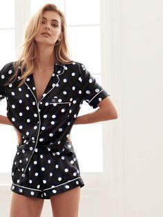 The Afterhours Satin Boxer PJ - Victoria's Secret Cozy Pajamas, Silk Pajamas, Pyjamas, Summer Pajamas, Pajamas For Teens, Pajamas Women, Satin Pyjama Set, Pajama Set, Womens Fashion Online