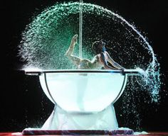 """Performed by: Ada Ossola Number: """"Crystallize"""" Choreographer: Ada Ossola Style: Water Bowl and Pole Dance From: """"Original Waterbowl Act : 'Let's Pool&Pole'"""" Pole Dance Moves, Pole Dance Fitness, Dance Tips, Dance Videos, Pole Dancing, Barre Fitness, Fitness Exercises, Aerial Hoop, Aerial Arts"""