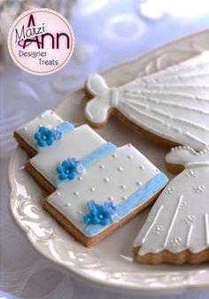 Amazing wedding biscuits