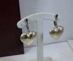935 Silber-Ohr-Clips Trachten Herz Ohrringe SO160 von Schmuckbaron