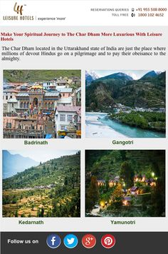 Make Your Spiritual Journey to The Char Dham More Luxurious With Leisure Hotels