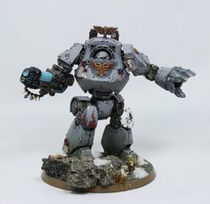 Contemptor Dreadnought - Bran Redmaws Great Company - http://www.tutorfrog.com/contemptor-dreadnought-bran-redmaws-great-company-2/  #Toys #cooltoys