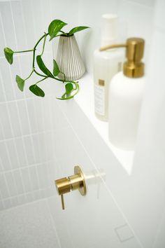 My Bathroom Renovation Revealed Adore Home Magazine - Bathroom Design Home Renovation, Architecture Renovation, Bathroom Renos, Bathroom Renovations, Small Bathroom, Washroom, Modern Bathroom, Master Bathrooms, Bathroom Makeovers