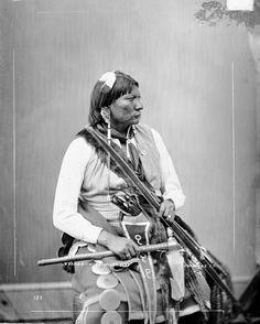 Esa-Havey (aka Esa-Ha-bith, aka Wolf's Road, aka The Milky Way) - Comanche - 1872