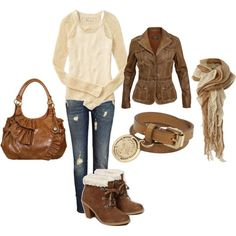 """""""creamy neutral"""" by jewhite76 on Polyvore"""