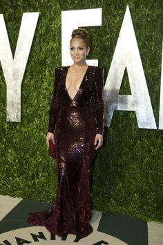 J. Lo @ the #VanityFair #Oscars party.
