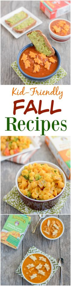 kid friendly recipes for fall