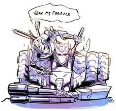 Wear My Face -  Tarn's having none of that. XD < not today, Vos!