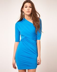 Enlarge Rare Jersey Ruche Dress