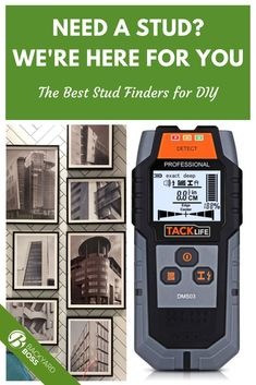 Here's our list of the best stud finders. Use them for all sorts of wall-hanging projects, including complicated plant and picture hanging.  We explore both magnetic and electronic stud finders, and also explain proper use in a detailed Q Ac Wiring, Stud Finder, Nails And Screws, Must Have Tools, Hanging Pictures, Product Review, Home Repair, Helpful Tips, Studs